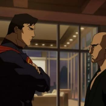 First Look at the Death of Superman Animated Movie Trailer