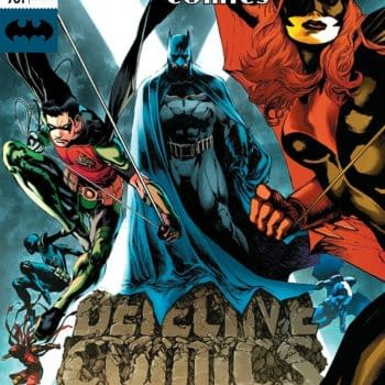 Batman: Detective Comics #981 cover by Eddy Barrows, Eber Ferreira, and Adriano Lucas