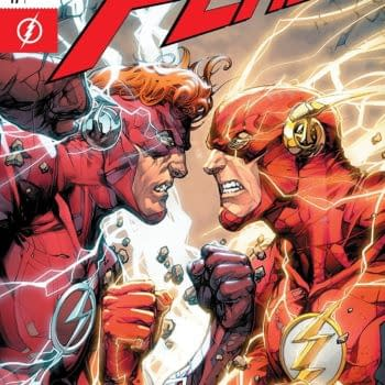 The Flash #47 cover by Howard Porter and Hi-Fi