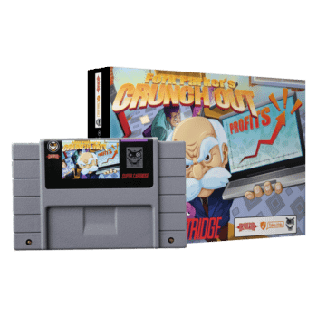Fork Parker's Crunch Out is Finally Being Released on SNES