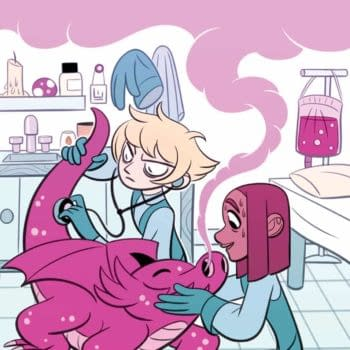 Socialized Medicine Taken to Extreme in New KaBOOM! OGN 'Hex Vet: Witches in Training' by Sam Davies