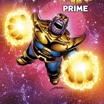 Thanos Rages on George Perez Infinity Wars Prime Variant
