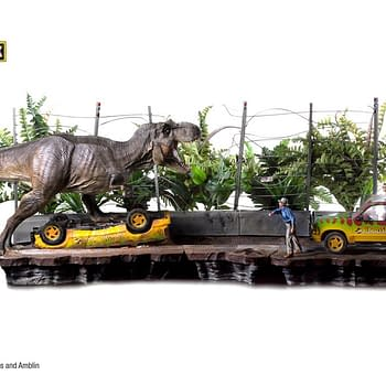 Jurassic Park Collectors: This is the Diorama You Have Been Waiting For