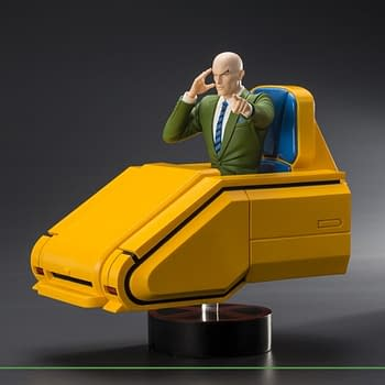 Professor X and His Chair Coming to Your Kotobukiya Collection