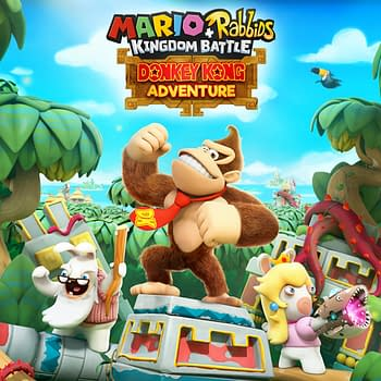 Donkey Kong Will Be Coming to Mario + Rabbids Kingdom Battle in June
