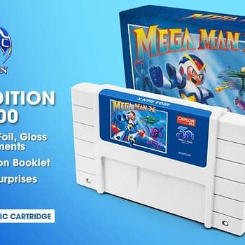 Mega Man X and Mega Man II Cartridges to be Produced