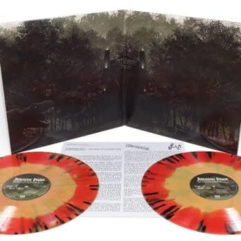 Mondo Jurassic park Vinyl Soundtrack Inside Jacket