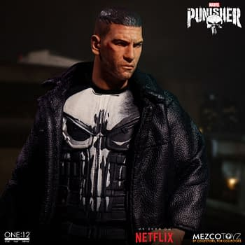 Punisher is Coming This Winter from One:12 Collective