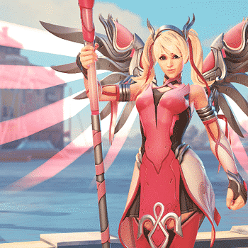 Overwatch Adds Special Pink Mercy Skin for Breast Cancer Research Foundation