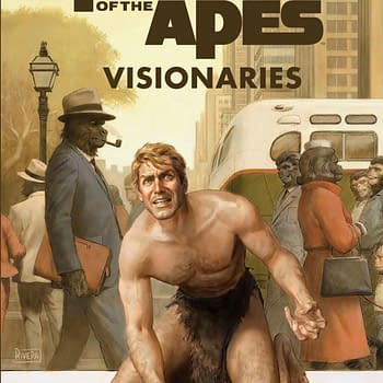 Look Inside the Comic Adaptation of Rod Serlings Original Planet of the Apes Script