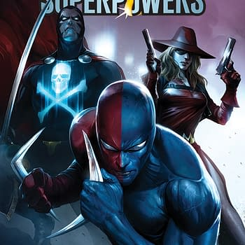 A Look Inside Project Superpowers #1 by Rob Williams and Sergio Davila