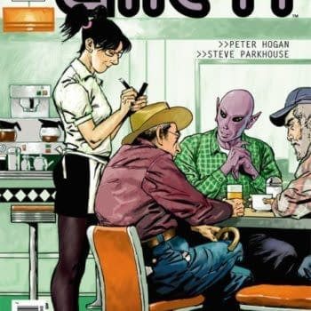 Syfy Gives Pilot Order to Resident Alien by Peter Horgan and Steve Parkhouse