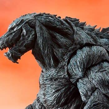 Godzilla Gets a Humongous New S.H. Monsterarts Figure