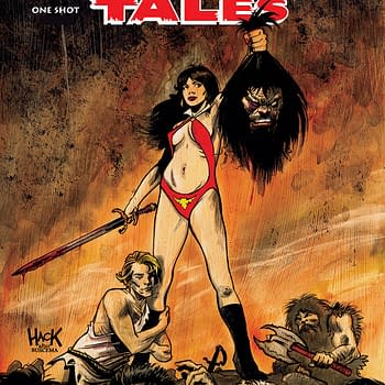 Savage Tales: Vampirella #1 Review &#8211 Dumb Bloody B-Movie Fun