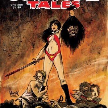 Writer's Commentary – Erik Burnham Talks the Savage Tales: Vampirella One-Shot