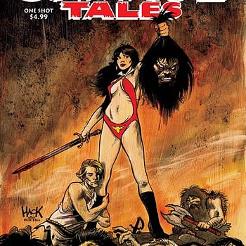 Writers Commentary &#8211 Erik Burnham Talks the Savage Tales: Vampirella One-Shot