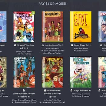 Lumberjanes and More BOOM Digital Comics Featured in the Latest Humble Bundle