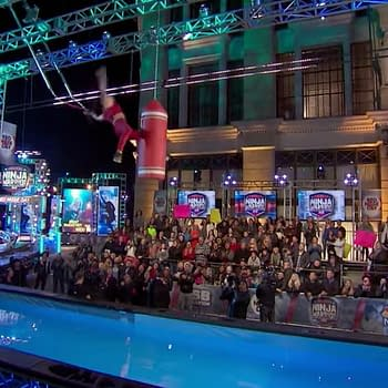 Nikki Bella Wins $15000 for Red Nose Day Charity on American Ninja Warrior