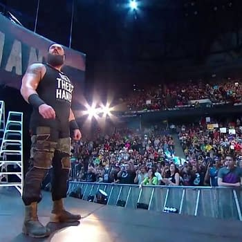 Monday Night RAW Opens with a Monster Among Men