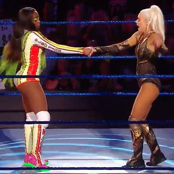 Lana and Naomi Go Head-to-Head in a Dance-Off on Tonights SmackDown Live