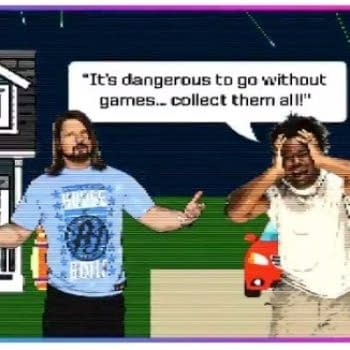 Up Up Down Down Launches New Retro Gaming Show with WWE Champion AJ Styles