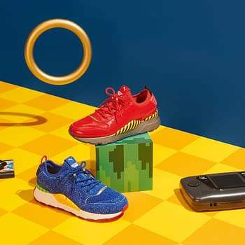 PUMAs New Sonic The Hedgehog Sneakers Will Be Released in June