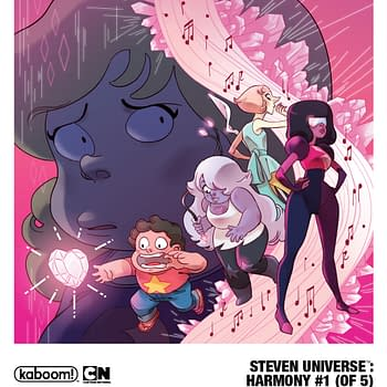 Boom to Launch Steven Universe: Harmony 5-Issue Mini in August