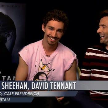 David Tennant Robert Sheehan Dean Devlin Bad Samaritan Interview