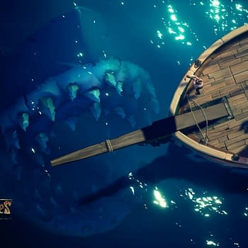 The Megalodon Shark is Now Terrorizing Sea of Thieves Players