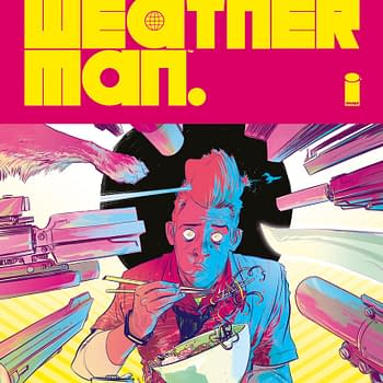 The Weatherman Gets a Matteo Scalera Limited Variant and a Synthwave Soundtrack