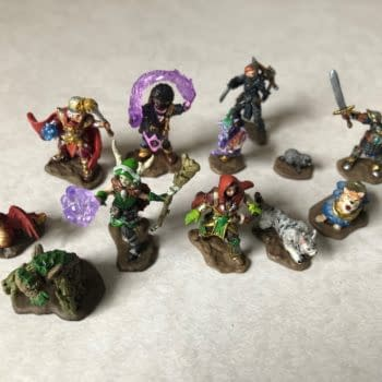 Pre-Painted Companion Fun as We Review WizKids' Wardlings