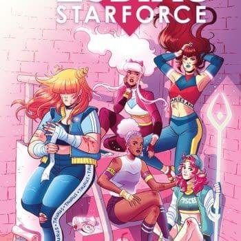 Zodiac Starforce Vol. 2 #4 cover by Paulina Ganucheau