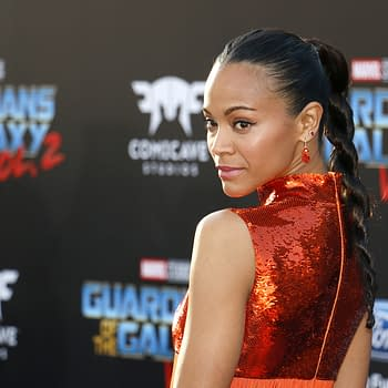 Zoe Saldana Proud to have James Gunn Back for Guardians of the Galaxy Vol 3