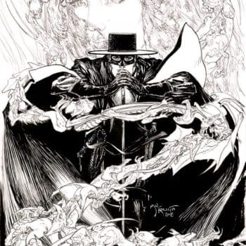 Michael Kaluta Joins American Mythology's Zorro Revival