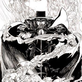 Michael Kaluta Joins American Mythologys Zorro Revival