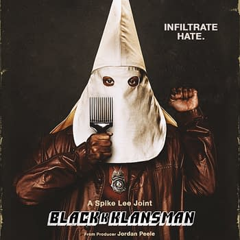 The First Poster for BlacKkKlansman Pulls Zero Punches