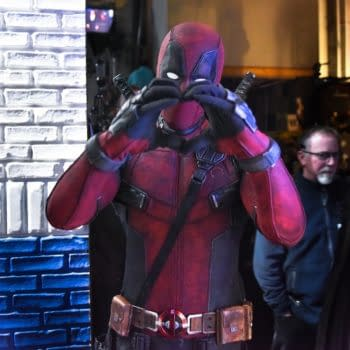 Deadpool Crashes The Late Show With Stephen Colbert Tonight