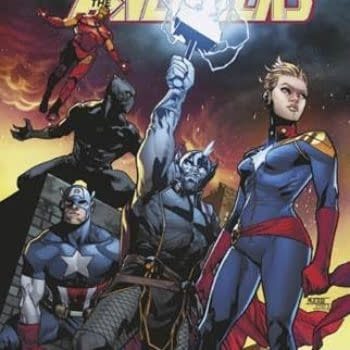 eBay Gets its Own Avengers #1 Variant Cover by Mahmud Asrar, Opens All-Avengers Online Store