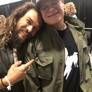 Jason Momoa Fangirls Over Meeting The Crow Creator James OBarr