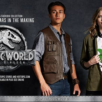 Hot Topic Releases Jurassic Park Collection for the Films 25th Anniversary