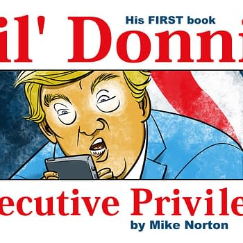 Mike Nortons Anti-Trump Webcomic Lil Donnie Collected at Image in August
