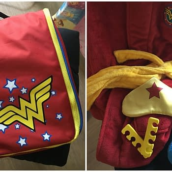 Gifts for Geeky Moms: Wonder Woman Spa Gift Set from ThinkGeek