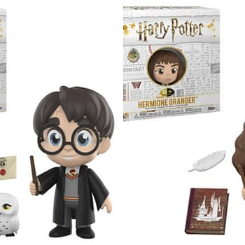 Funkos New 5 Star Figures Begin with Harry Potter