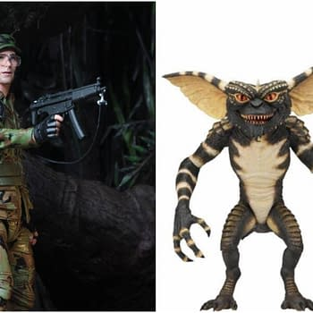 NECA Reveals the Ultimate Gremlins Figure and Hawkins From Predator