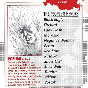 Russias Future in the DC Universe from Doomsday Clock: The Peoples Heroes