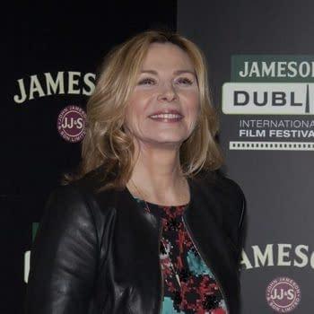 DUBLIN, IRELAND - MARCH 2015: Actress Kim Cattrall