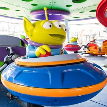 Take a Peek at the Alien Swirling Saucers Coming to Toy Story Land