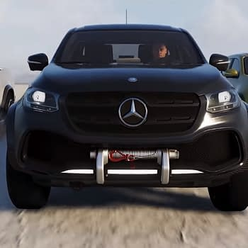 Mercedes-Benz X-Class Shows Up in Latest Trailer for The Crew 2