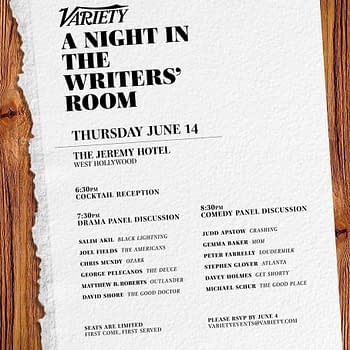 1 Female Writer out of 12: Varietys A Night in the Writers Room Event