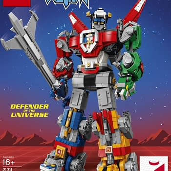 Voltron LEGO Ideas Set Hits August 1 Available First at SDCC
